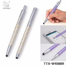 smartphone stationery stylus touch screen ballpoint pen with custom logo