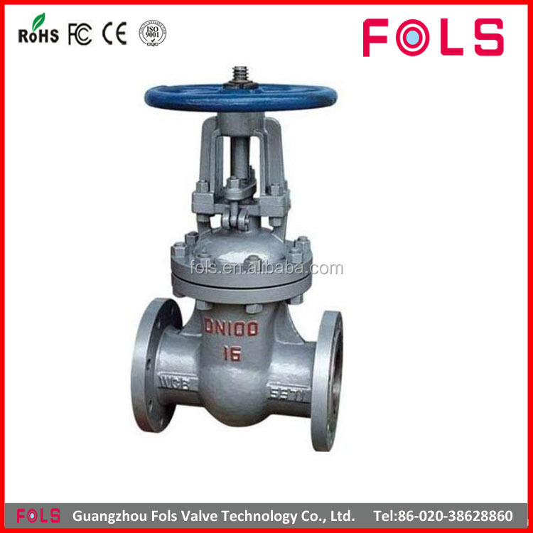 Manual High pressure rising stem 304 stainless steel gate valve