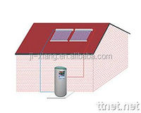 Split Solar Water Heater ,Pressurized Bearing Solar panel collector,vacuum tubes heat pipe 24mm Solar Thermal Systems