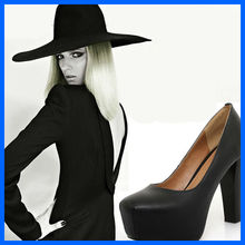 SW2009 FREE SHIPPING women shoes 2013 new korean genuine leather shoes high heels sexy girls pump shoes