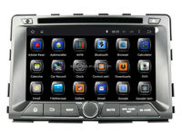 Quad Core Android 4.4 Touch Screen Central Multimedia for SsangYong Rodius/Rexton Car Audio DVD Player With GPS Navigation Hot
