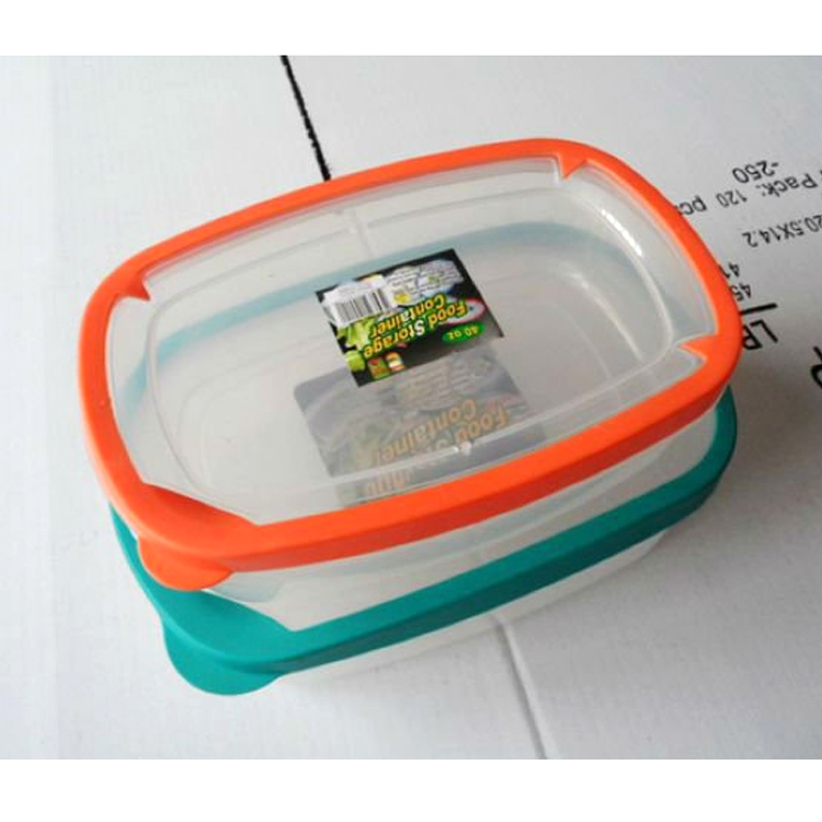 wholesale eco-friendly plastic box airtight seal food storage container food storage containers