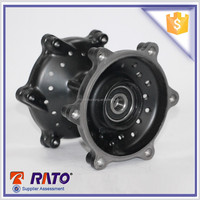 Black Good Material And Cheap Front Disc Brake Motorcycle Wheel Hub