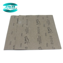 High quality latex paper wet and dry waterproof abrasive sandpaper
