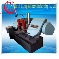 Single Column horizontal portable band saw working machine from JIAYANG