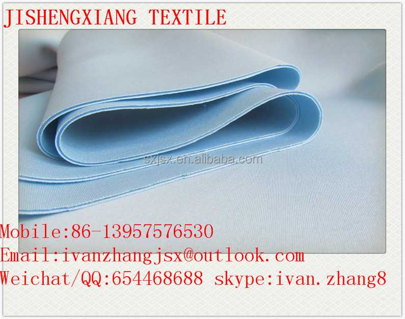Jishengxiang Textile Hot Sale Dyed Knitted Stretch Interlock 94% Polyester 6% Spandex Thick Double Jersey Scuba Dress Fabric