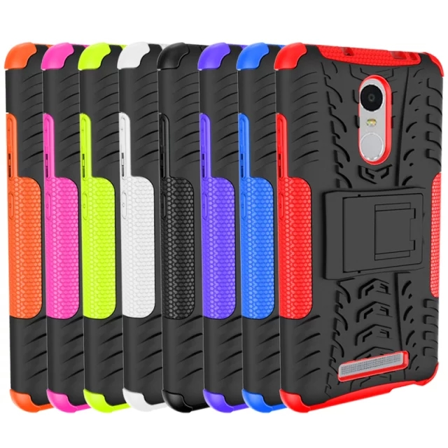 2016 hot sales slim armor phone case for redmi note 3