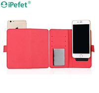 Card Slots Wallet Slide phone case,Universal Flip Case for smartphone