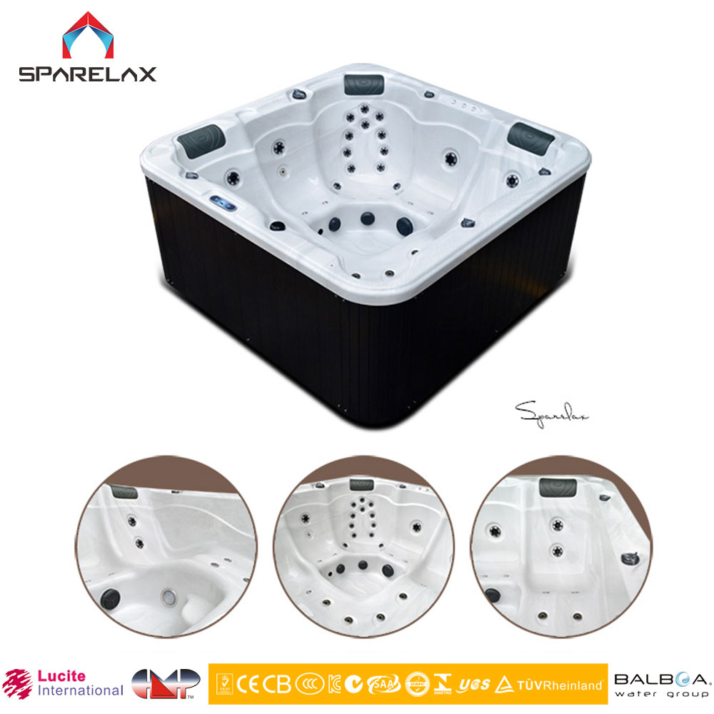 Sex Relax Massage Bath Tub Acrylic Outdoor Whirlpool Spa