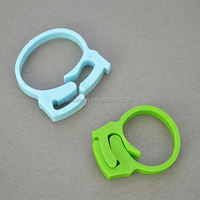 colorful multipurpose ring circle clip for USB and power cable alligator clip cable