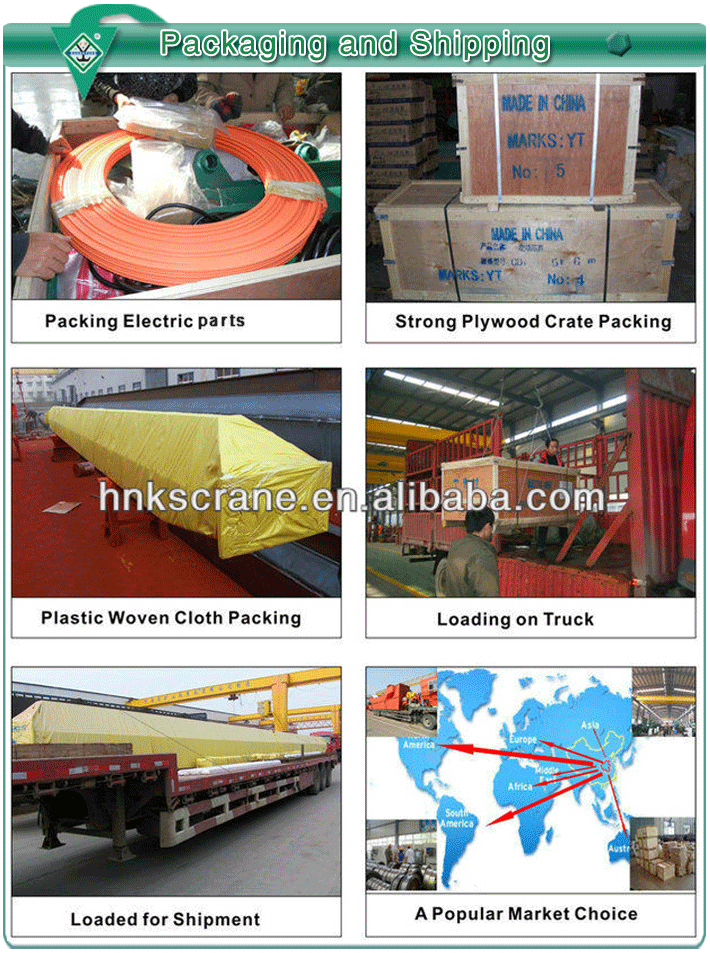 Clamshell bucket for double girder/beam overhead crane with orange grab