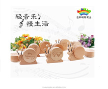 beech wood music box good gift for lover friend and baby