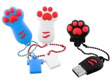 Novelty Cute Cartoon feet Shaped Flash Memory Stick Pen Drive