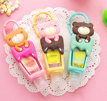 hello kitty 1floz/29ml silicone hand sanitizer gel holder like your little little cat