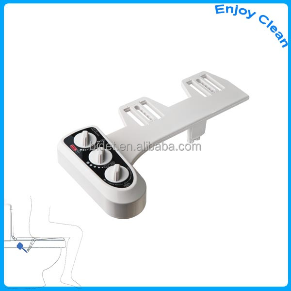 Attachable Non electric bidet, Non electronic Bidet, Manual Bidet