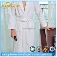 Wholesalelow MOQ super soft waffle weave bath robe