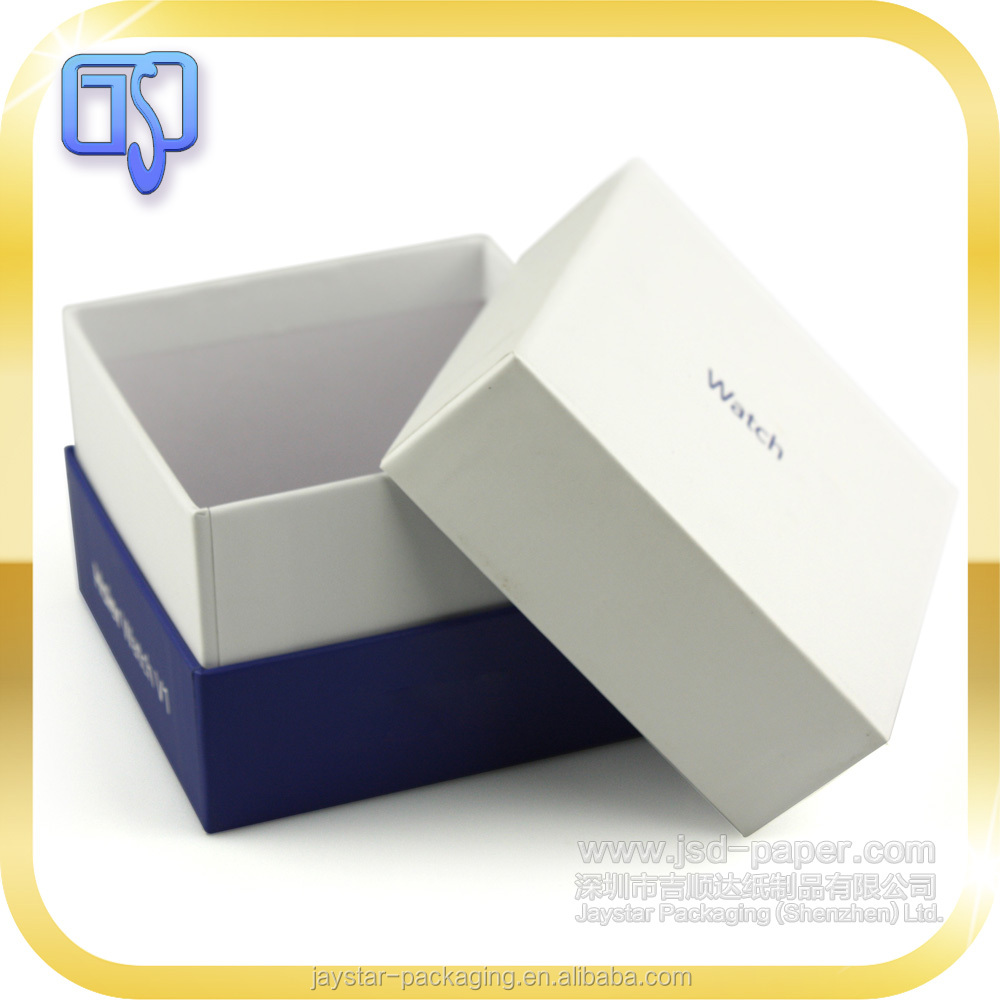 Display packaging box paper watch box supplier