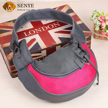 Wholesale Suitable for Small Pets PU Oxford Cloth Portable Breathable Single-shoulder Dog Bag Carrier