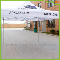 Outdoor high quality commercial advertising folding canopy 3x3 tent