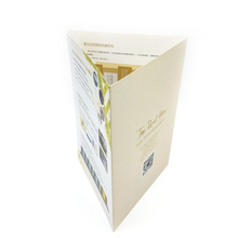 Offset Printing Art Paper New Design Folded Brochure sample company brochure printing services