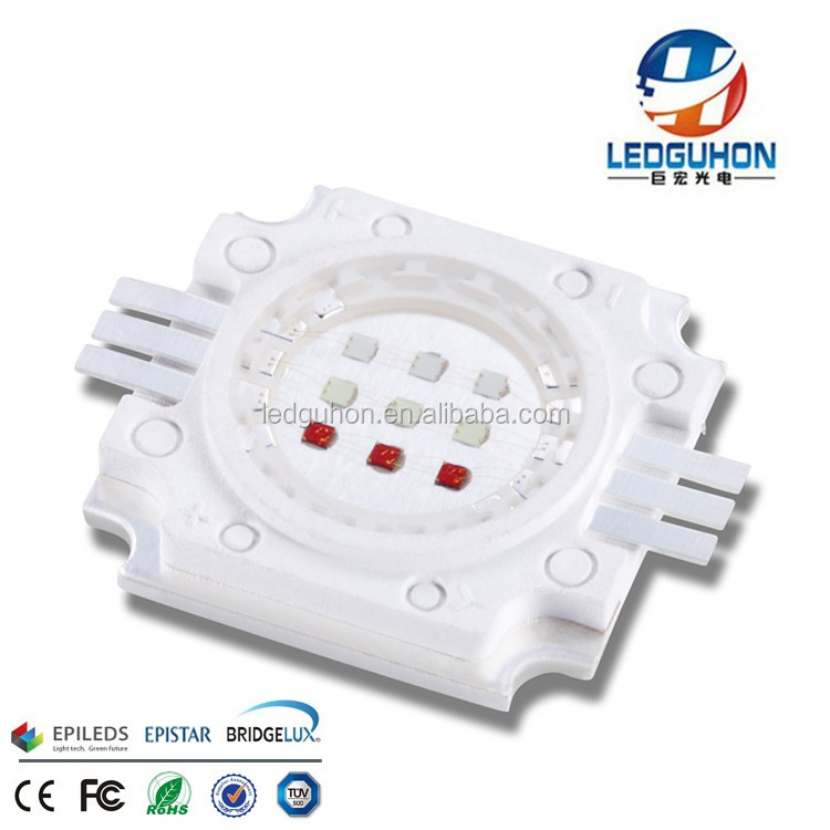 high power LED Modules 10W rgb led light for stage light use