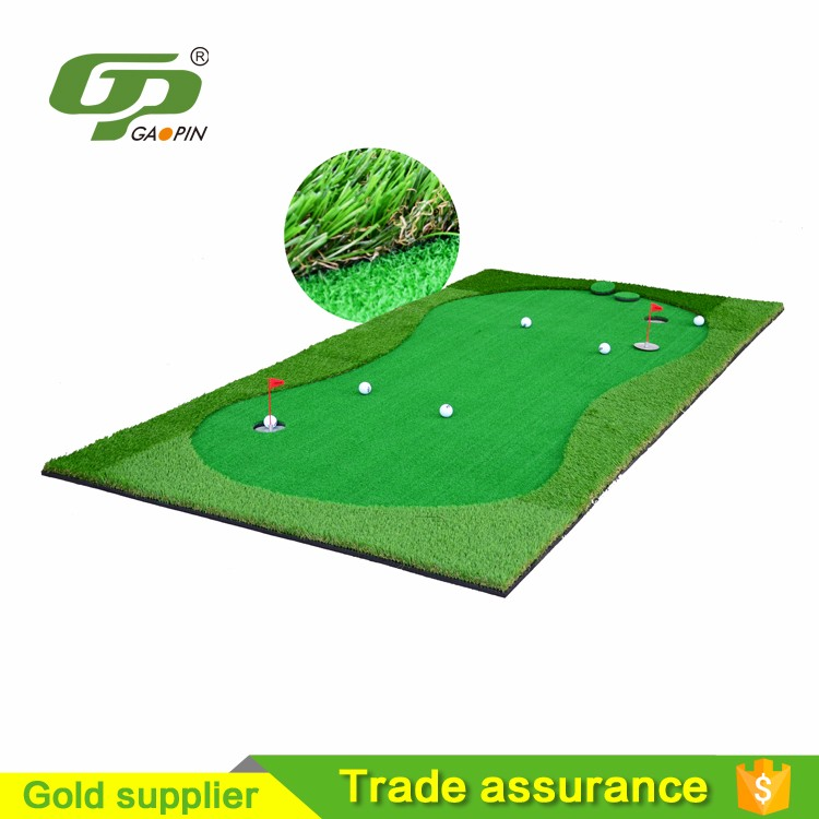 3.5m*1.5m golf putting green for garde & artificial grass for golf