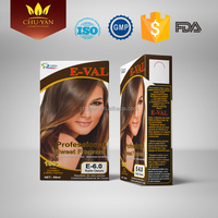 Professional salon 60ml hair color cream herbal hair dye healthy and full hair color