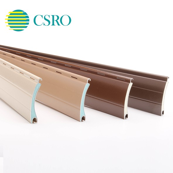 39mm aluminum foam slats for exterior decorative window shutters