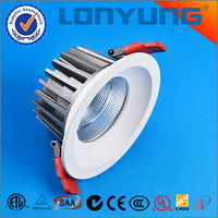 Best price aluminum housing for good heat dissipation 12w 15w 30w 15w led downlight kit