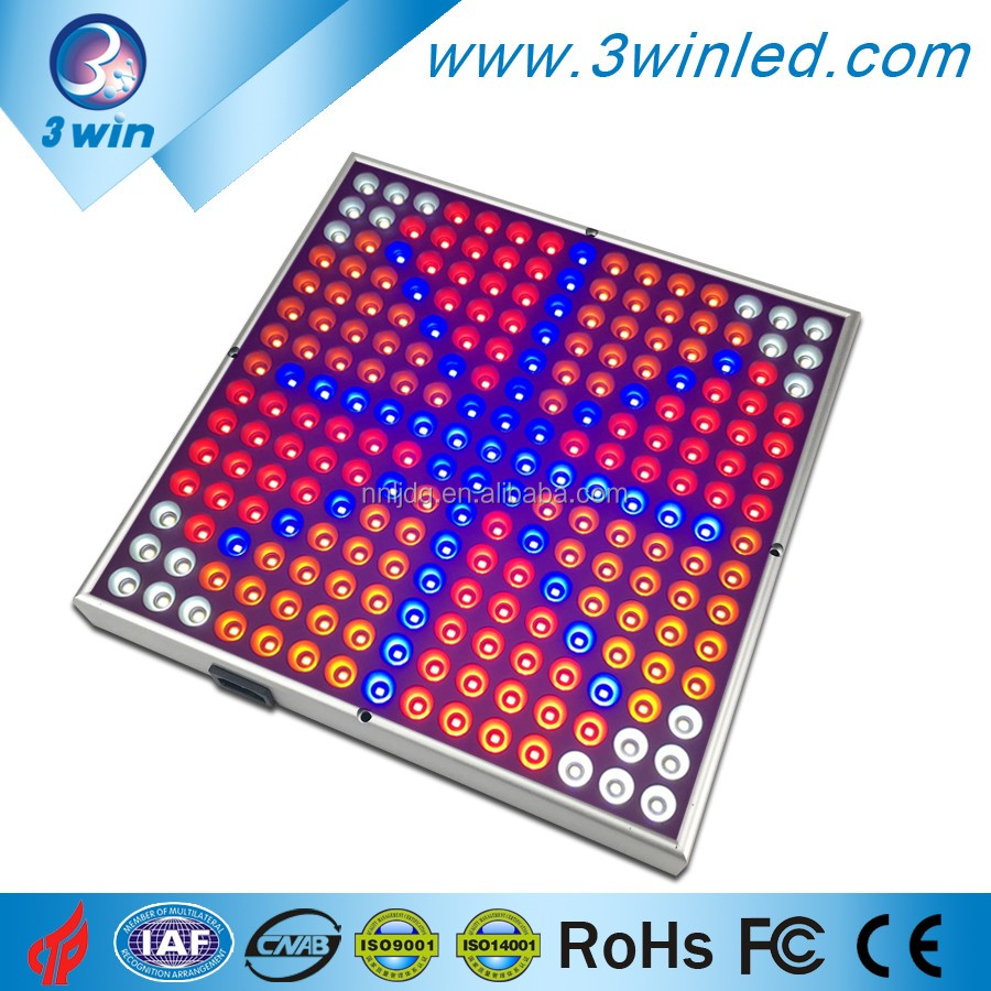 14W LED Red Blue Orange White Full Spectrum LED growing Panel For Indoor Garden Plant