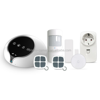 2017 newest 3G WCDMA alarm system IOS Android APP control home security system 3g alarm system smart home 868