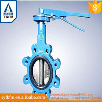 2016TKFM China supplier isolation butterfly valve manufacturer in ahmedabad DIN/ANSI