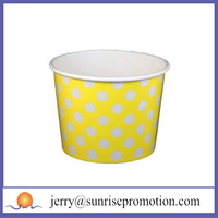 Nice paper disposable ice cream sundae paper cup