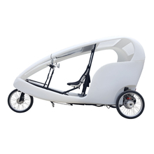 Open Cabin Touring Three Wheel Passenger Vehicle Electric Transport Vehicle