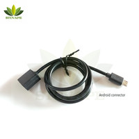 Amazon 80cm long cable Charger E cigarette Vape Usb Charger for juul case juul charger with custom length