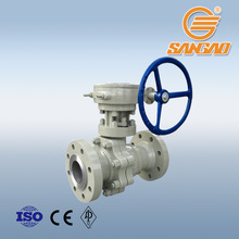 steam pipe sus gear ball valve floating operated ball valve 2 inch stainless steel