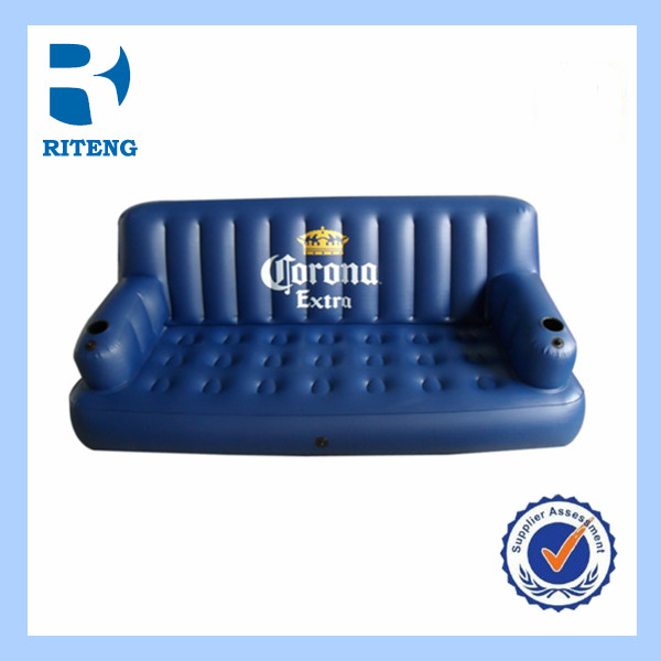 large inflatable waterproof outdoor plastic sofa lounger sofa
