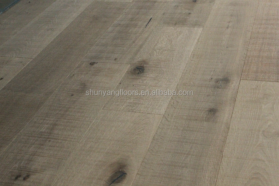 Oak engineered flooring -smoked and saw marks -<strong>01</strong>