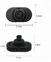 WiFi NTK96658 Dual Camera 2k Dash Cam Hidden and Universal Car DVR Camera FHD1080P Car Camera Dashcam
