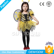 hot sale girls bamble bee fairy costume