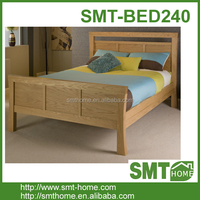 cheap simple Double wood wooden pine bed frame bedstead
