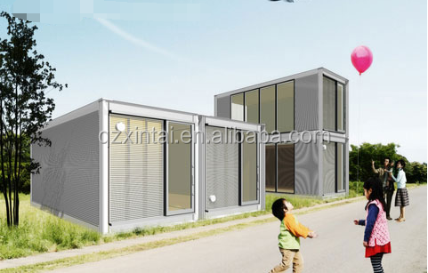 2017 the latest luxury mobile home in China mobile cheap building container house