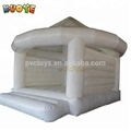 white bouncy castle for wedding, inflatable adult bounce house white