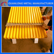 Metal Building Materials Colorful Sheet Metal Roofing