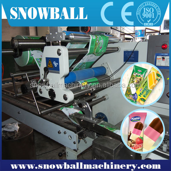 China high quality Automatic Ice Cream Bar Packing System/Packing equipment