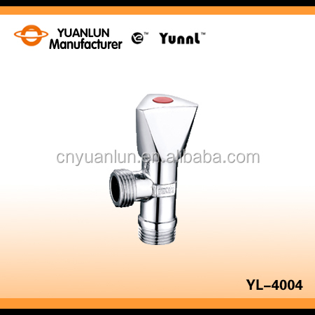 CE approved high pressure brass angle ball valve