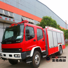 Pump fire fighting truck with water tanker (Joint-venture with MORITA corporation)