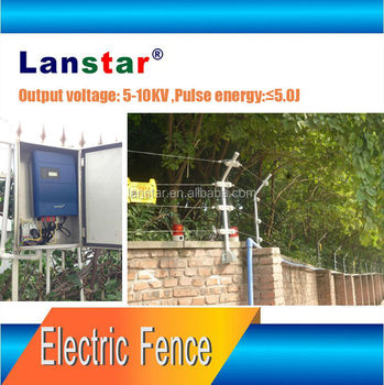 Lanstar electric fence energizer,security pulse shock