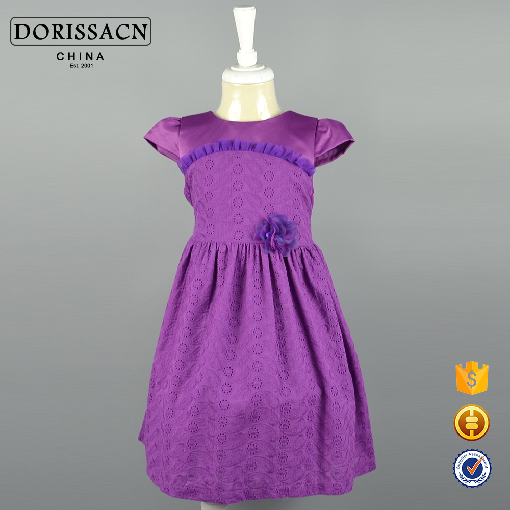 Baby Small Girl Frocks Designs for 3 Years Old Girl Wear Cotton Frock Clothing Manufacturers Small Moq