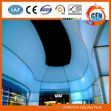 Project architectural building material pvc stretch ceiling from perfessional factory with 15-year warranty for swimming pools
